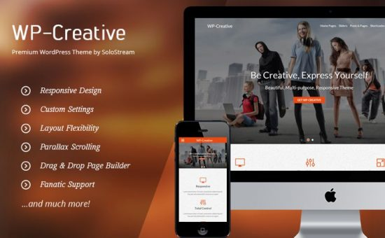 WP Creative Personal or Business Theme