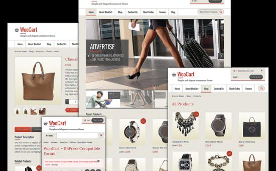 WooCart Responsive WordPress Theme