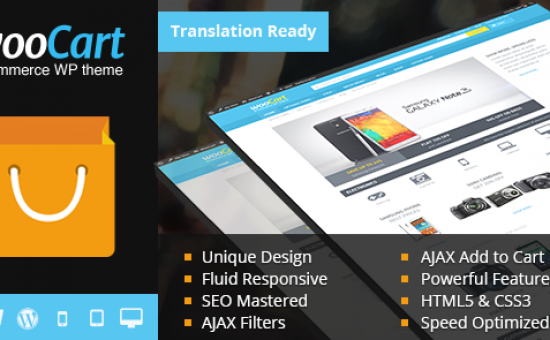 WooCart Responsive WordPress eCommerce Theme