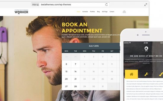 Worker WordPress Small Business Owners Theme