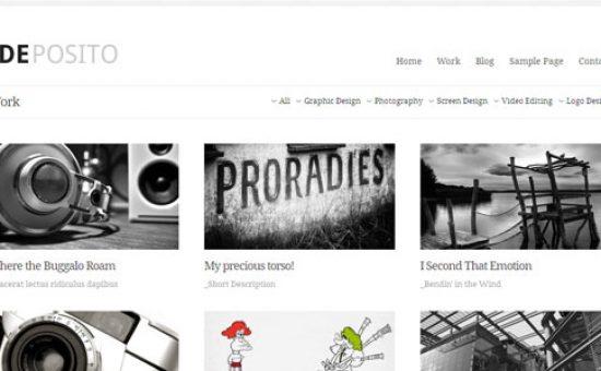 dePosito Portfolio Page