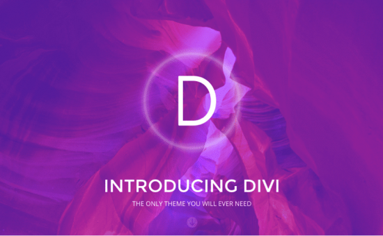 Divi WordPress Visual Page Builder theme