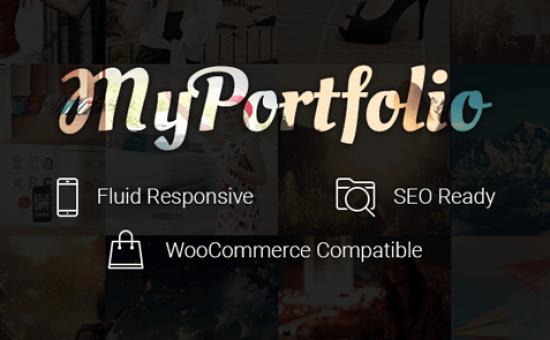 myPortfolio WordPress Showcase Works Theme